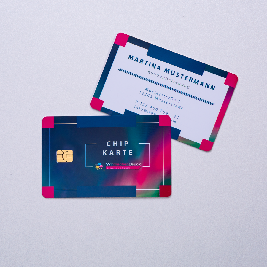 Druckerei Wirmachendruck Sie Sparen Wir Drucken Chipkarten
