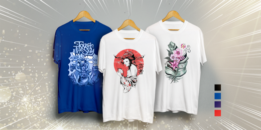 T-Shirts als Giveaways