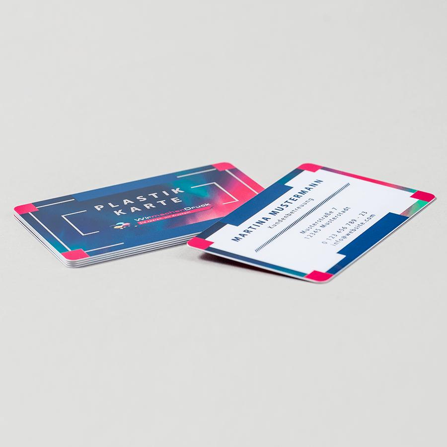 Plastik Visitenkarten Günstig Drucken Wirmachendruck De