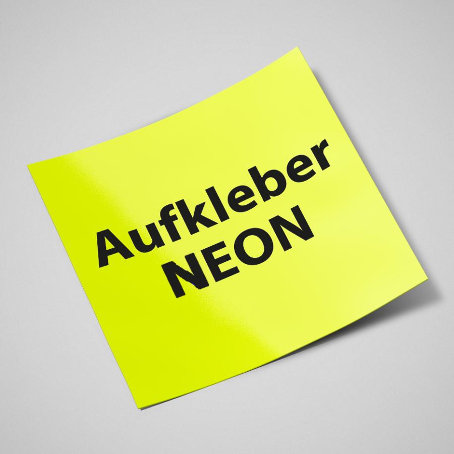 Neon Aufkleber Günstig Online Drucken Wirmachendruckde