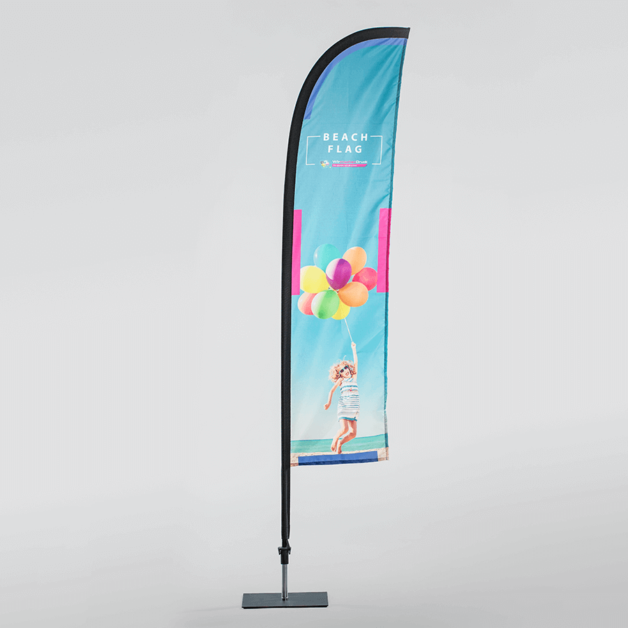 Beachflags günstig online bedrucken | WIRmachenDRUCK.de