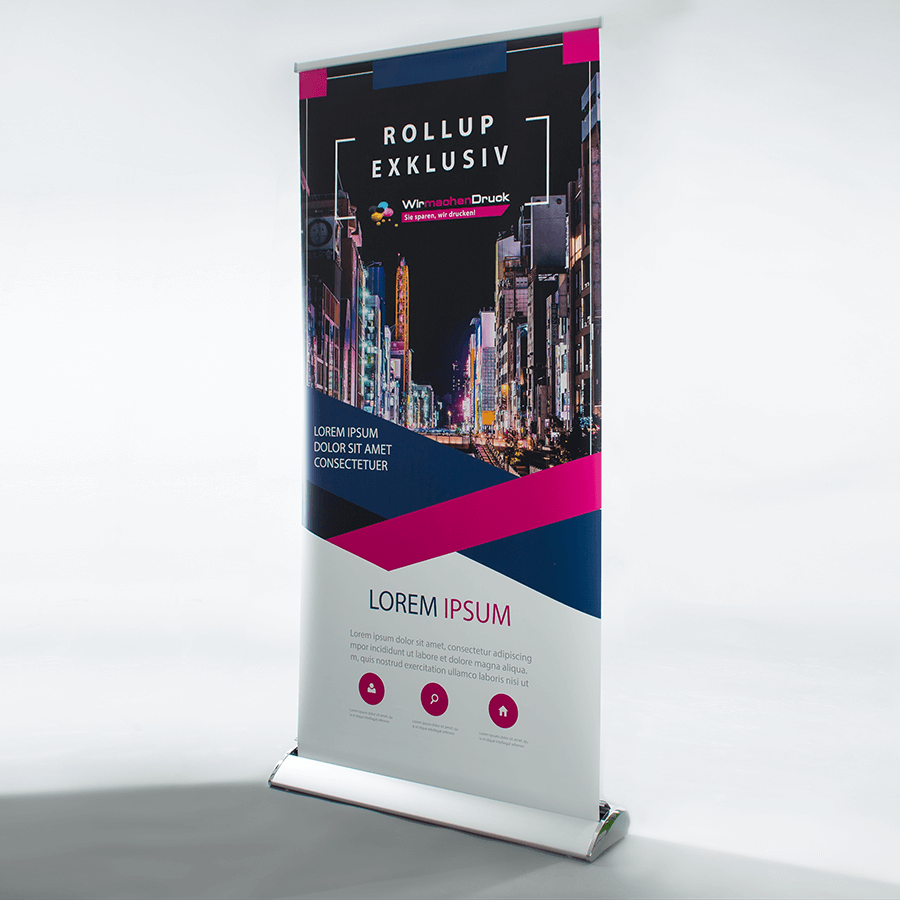Roll-up-Display Exklusiv
