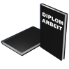 Hardcover DIN A4 schwarz - Warengruppen Icon