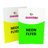 Neon-Flyer A4 - Warengruppen Icon