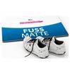Fussmatte bedruckt mit Schuhen
