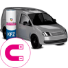 KFZ-Magnetfolie - Icon Warengruppe