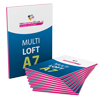 Multiloft-Flyer DIN A7 - Warengruppen Icon