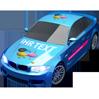 Auto mit Werbung Beschriftung - Auto Klebefolie bedruckt