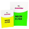 Neon-Flyer - Icon Warengruppe