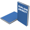 Hardcover DIN A4 blau - Warengruppen Icon
