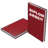 Hardcover DIN A4 bordeaux - Warengruppen Icon