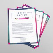 Briefpapier Günstig Online Drucken Lassen Wirmachendruckde