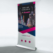 Roll-up-Display Exclusiv