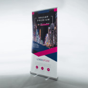 Roll-up-Display Premium