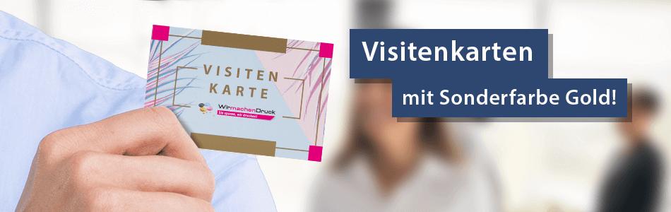Visitenkarten Mit Sonderfarben Drucken Wirmachendruckde