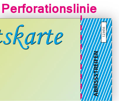 Perforationslinie
